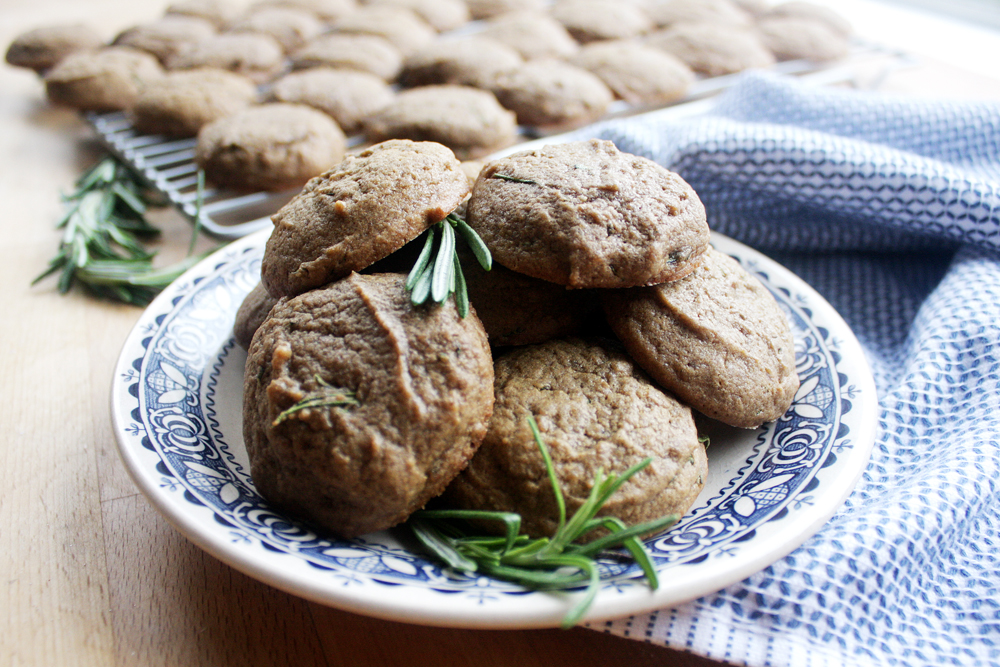 Rosemary Coffee Cookies