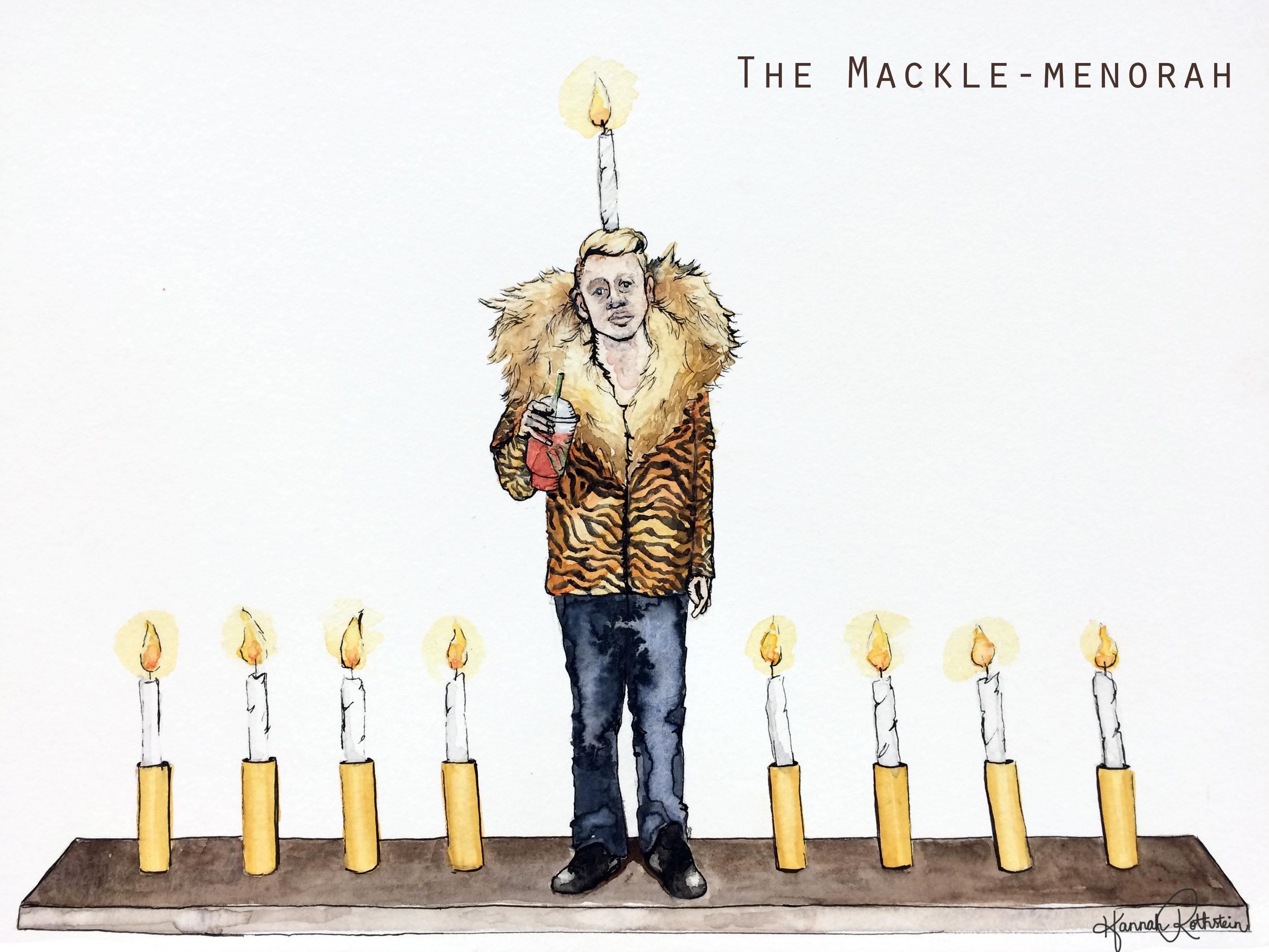 The Mackle-menorah