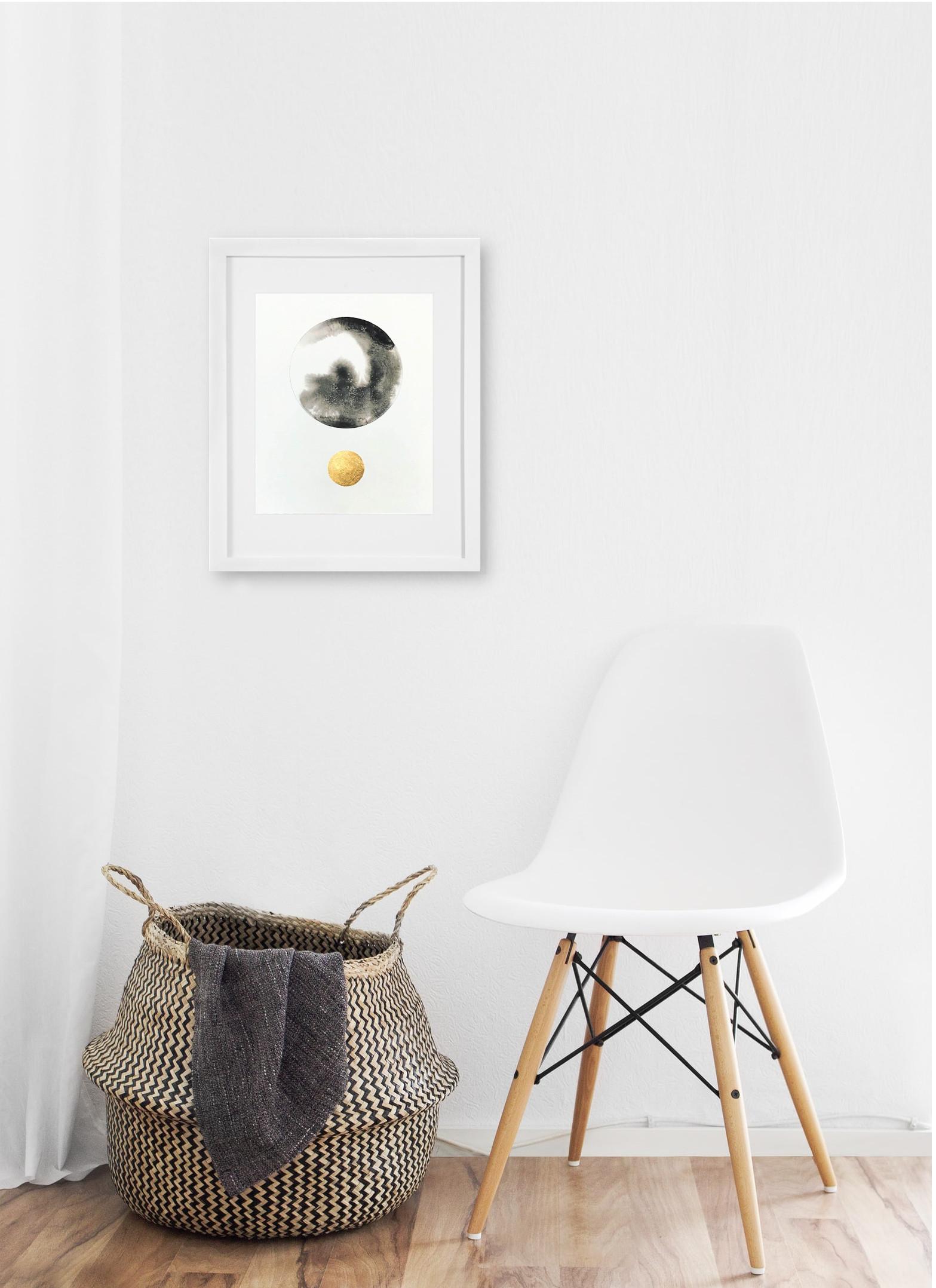 Spheres Black Copper Silver 11 x 14 display.jpg