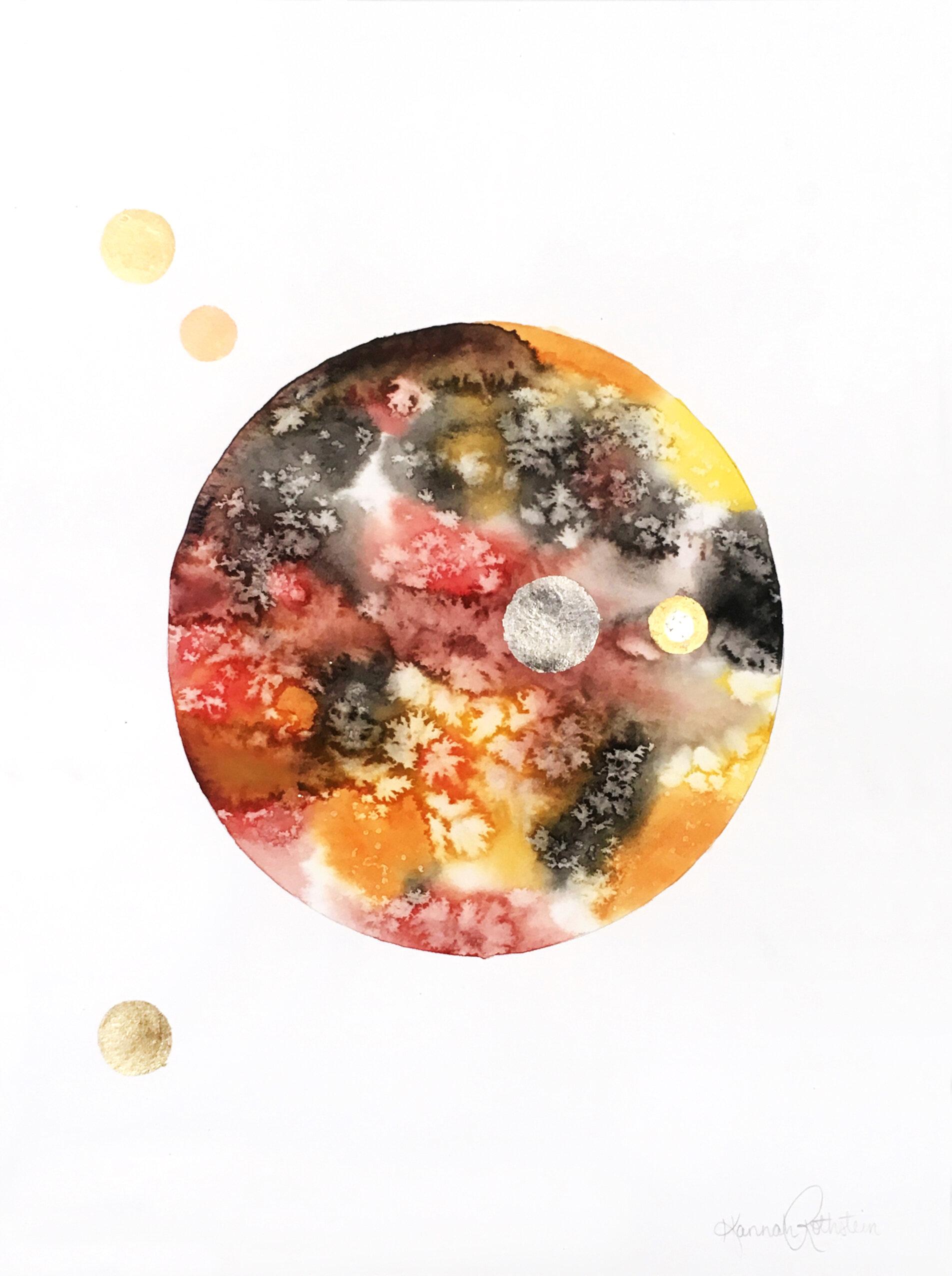 Multi Metal Red and Tan Sphere.jpg