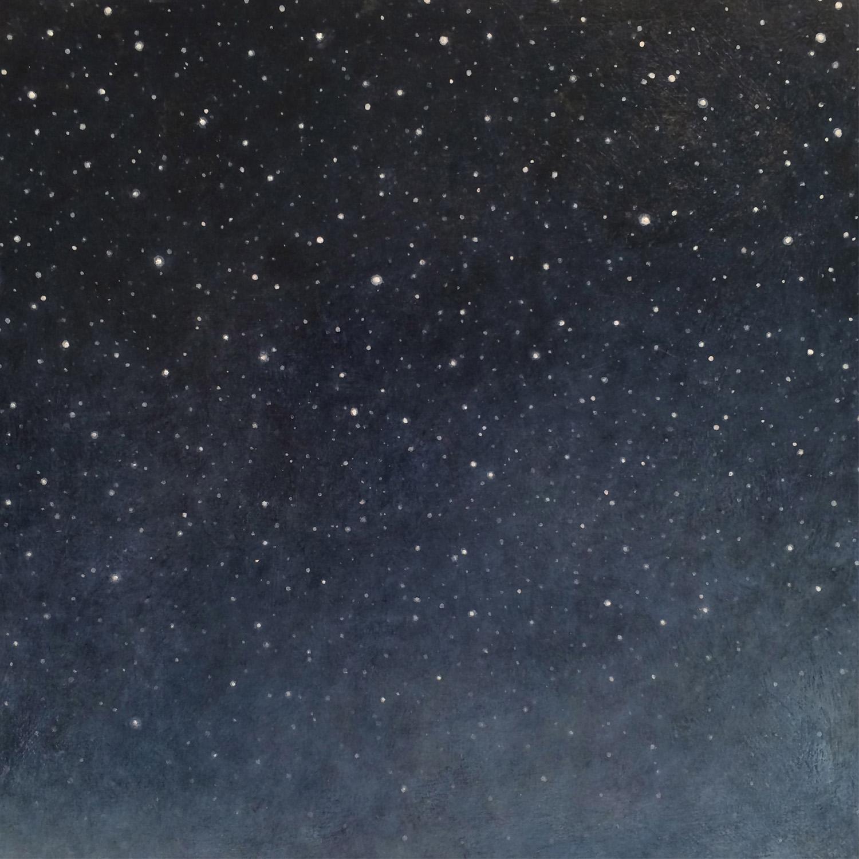 Night Sky in Paint