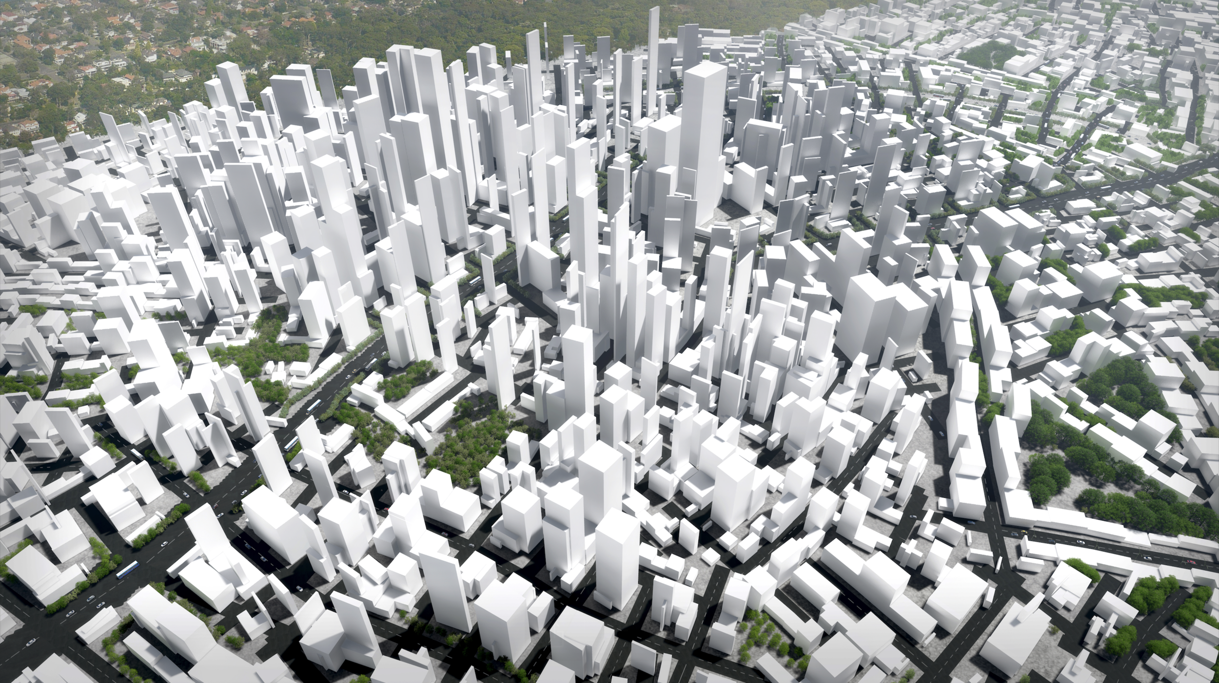 Computational Modelling of Cities: Co-evolution