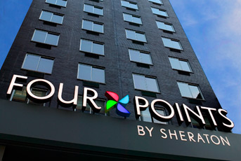 The Sheraton Four Points, Perth CBD.
