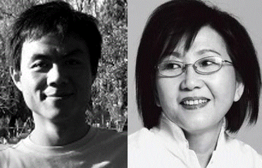 He Zhengjun, director of the Transition Institute and prominent writer Xu Xiao were both detained on Nov 26, along with Xue Ye and Liu Jianshu, a sign of growing suppression against government critics. Courtesy: PEN International.