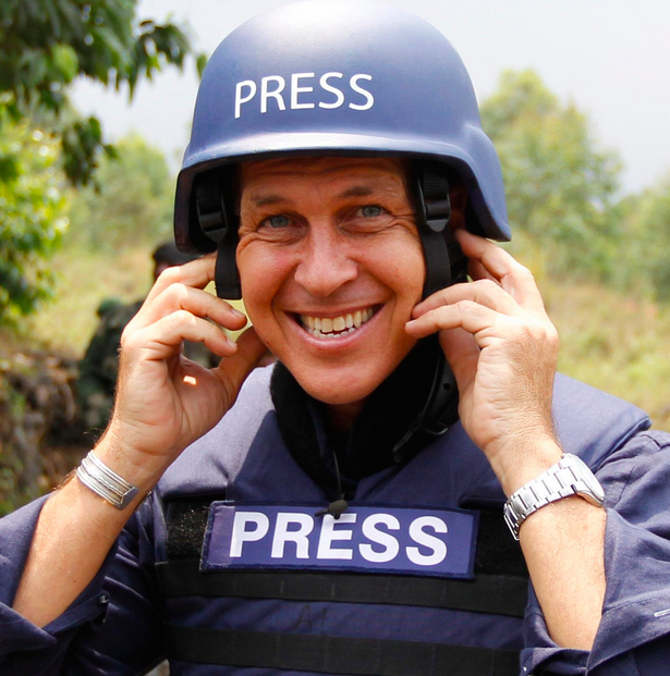 Award-winning Australian foreign correspondent Peter Greste was  found guilty in June 2014by an Egyptian court of spreading false news and supporting the blacklisted Muslim brotherhood.