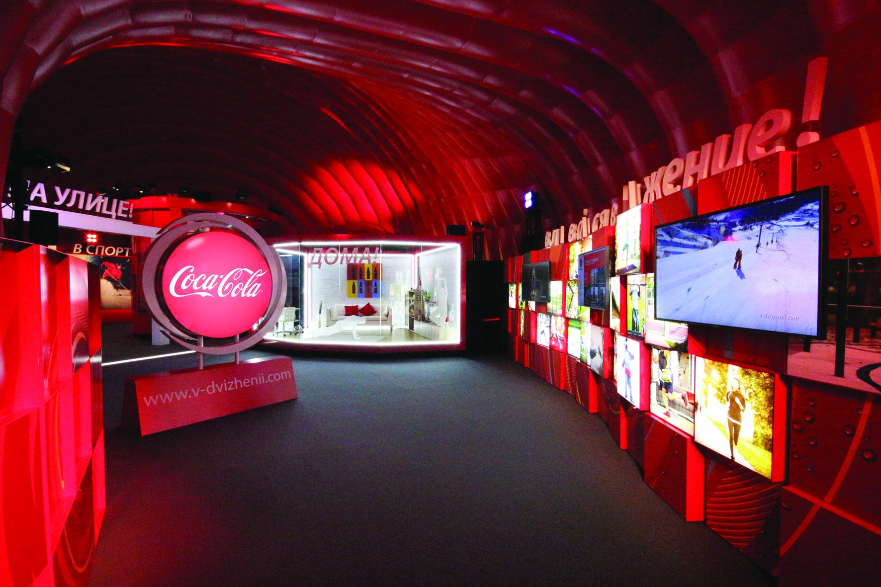 HEART productions coca cola sochi 2014