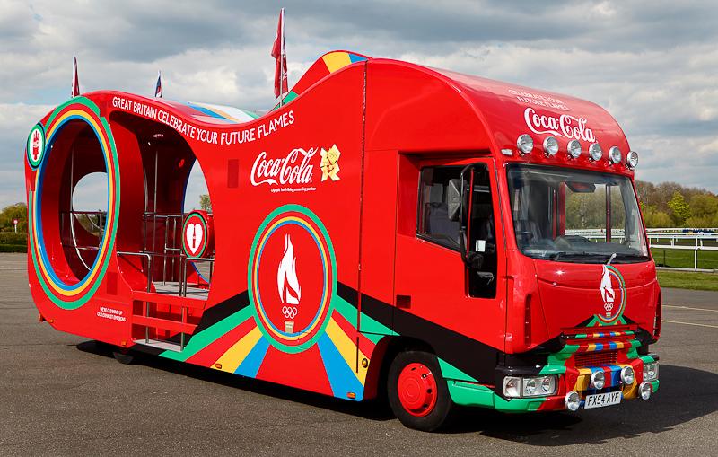LONDON 2012 COCA-COLA TORCH RELAY