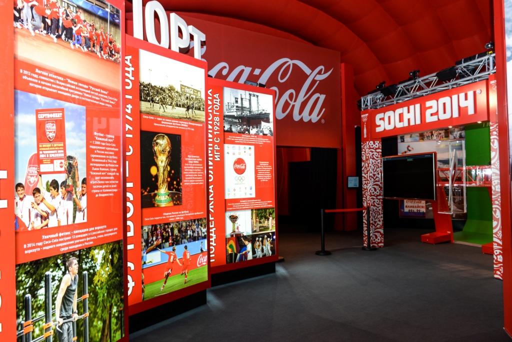 SOCHI 2014 COCA-COLA OLYMPIC SHOWCASE