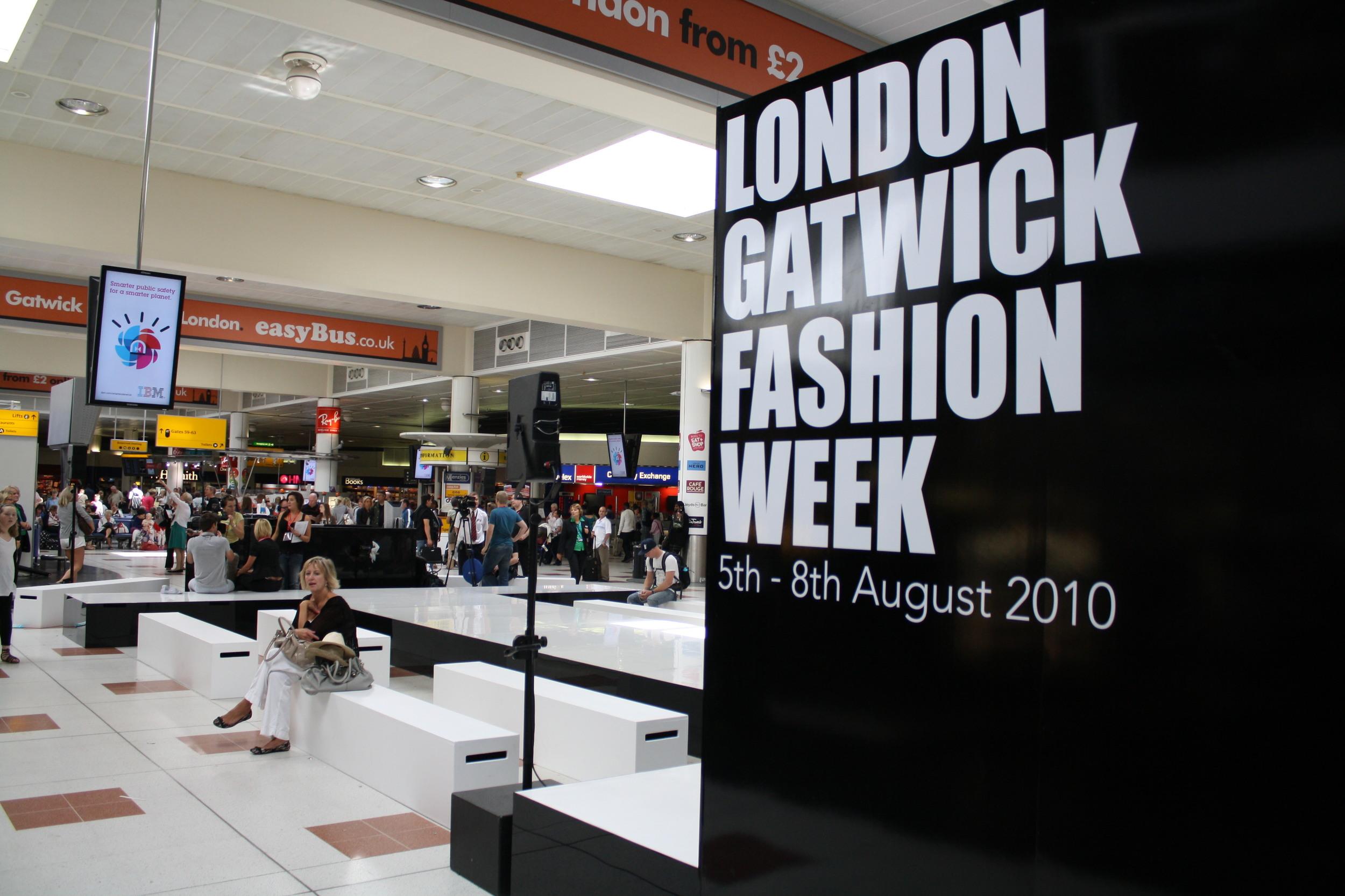 LONDON GATWICK FASHION WEEK