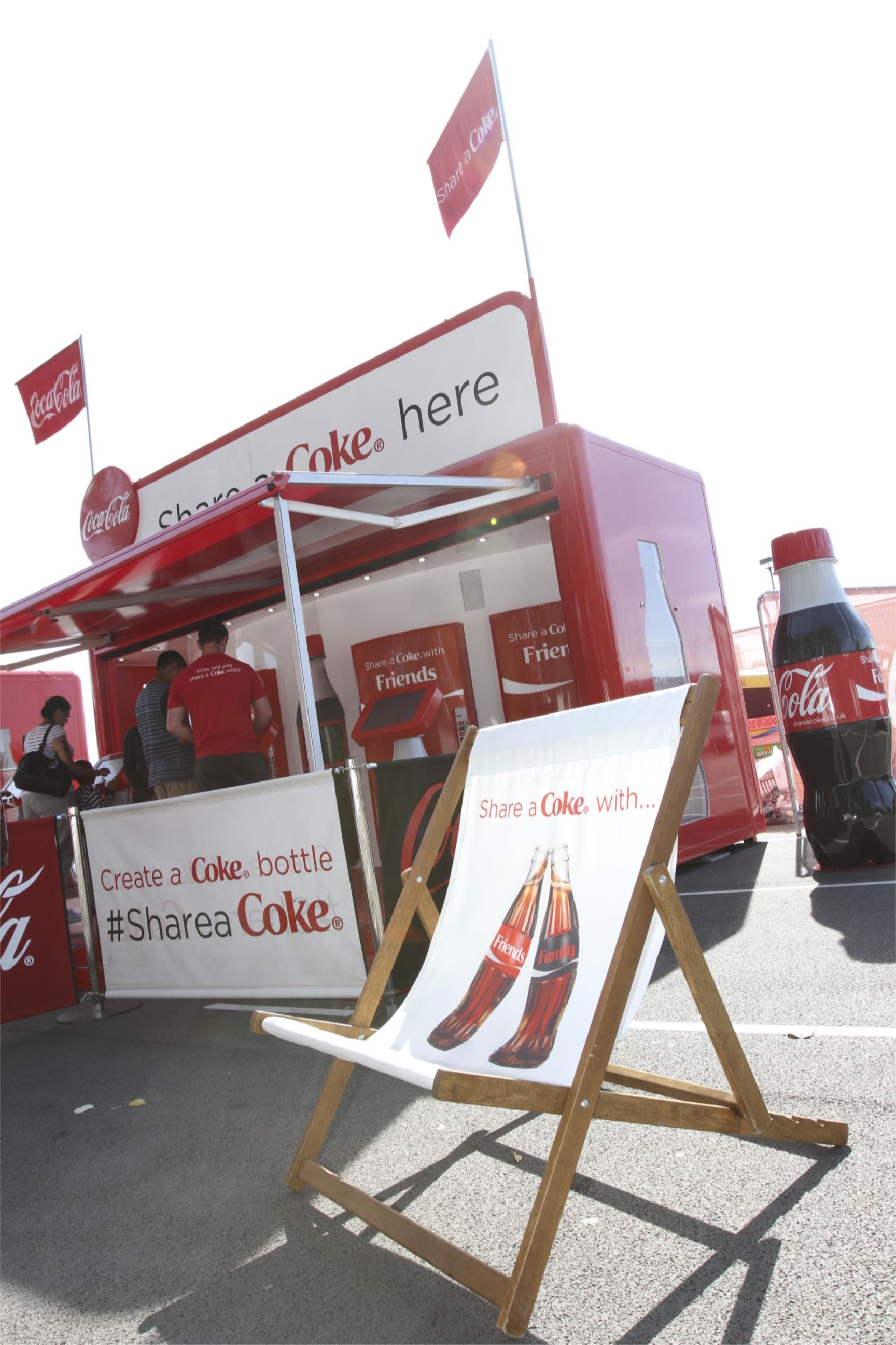 HEART Event Design share a coke london