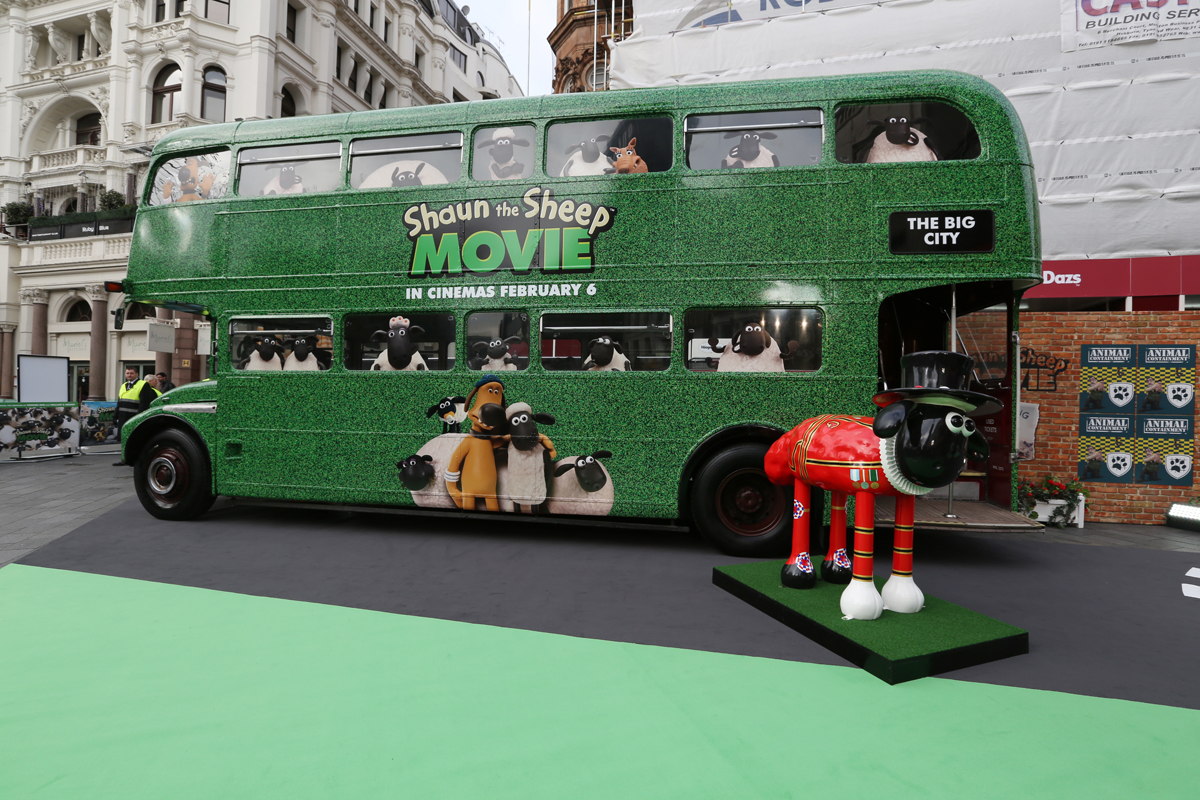 HEART Productions Shaun the Sheep premiere london