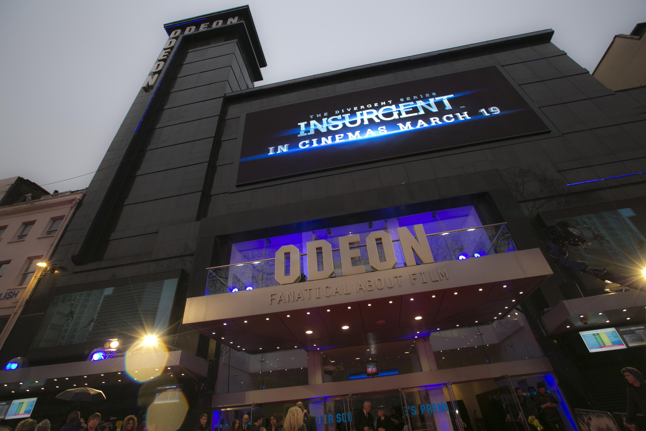 HEART Productions Insurgent premiere london