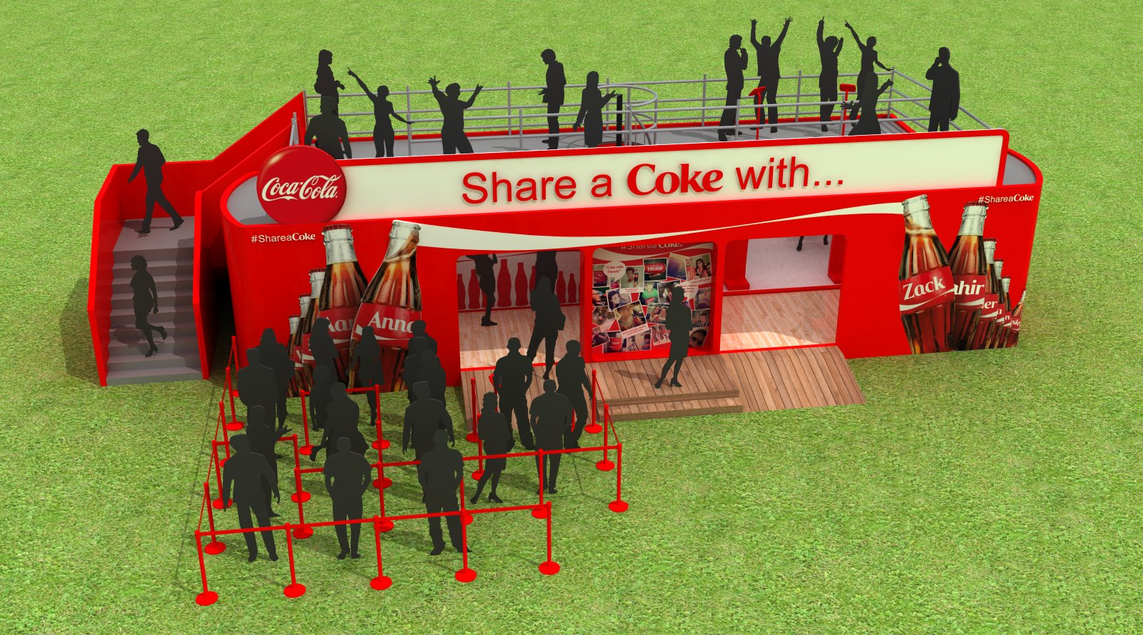 Share A Coke Render England UK HEART design