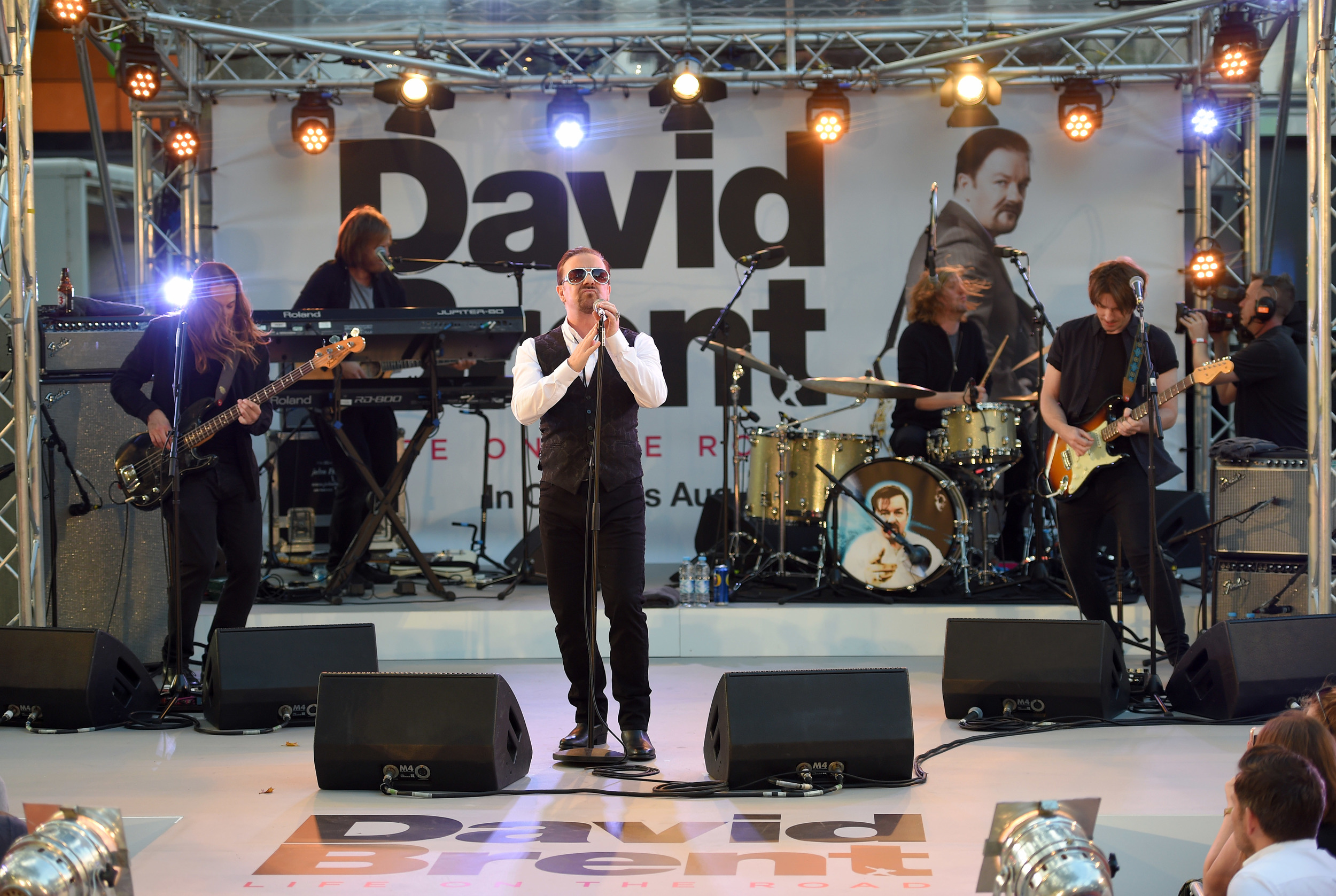 David Brent, Life On The Road Premiere