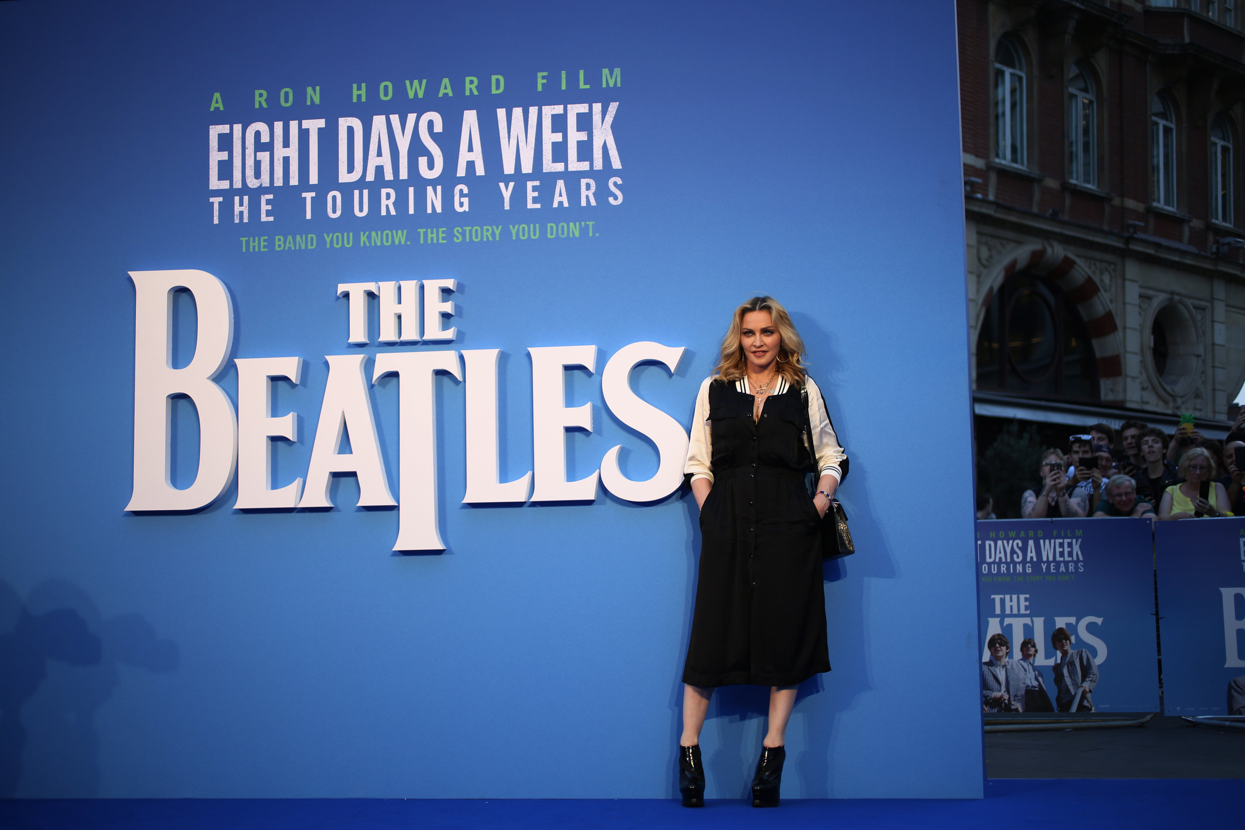 EIGHT DAYS A WEEK, THE TOURING YEARS PREMIERE