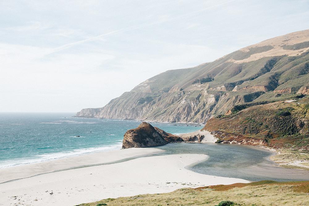 The coastal road from LA to San Francisco.