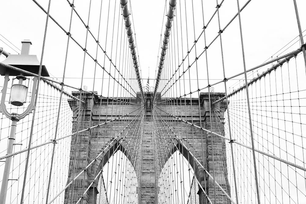 Details of Brooklyn Bridge