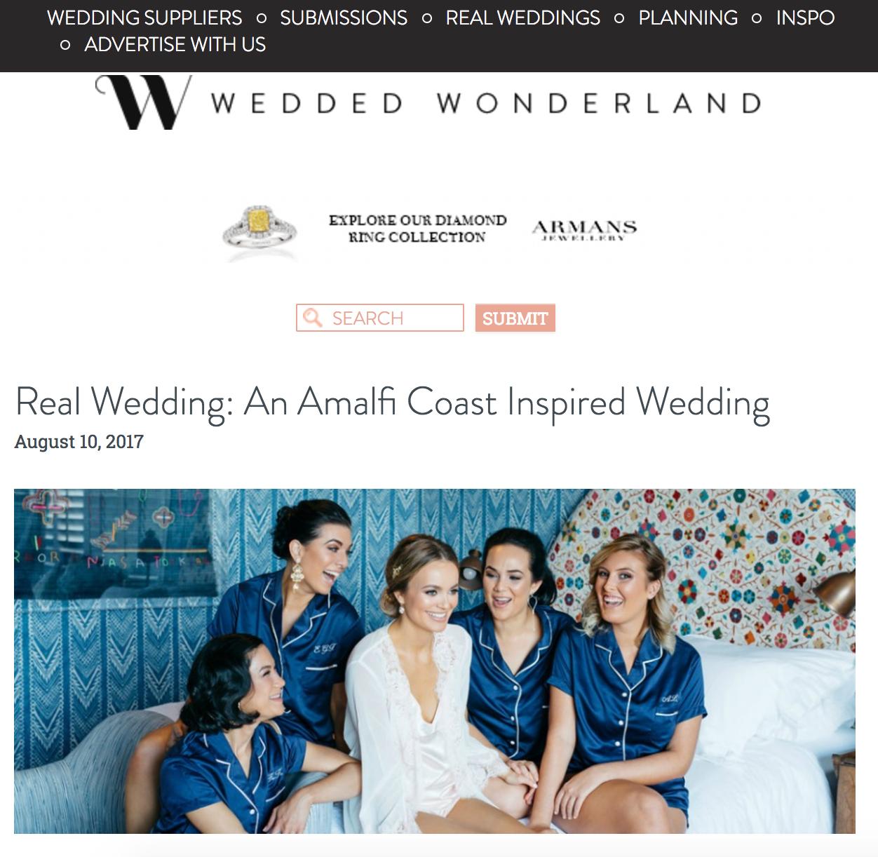 Moments by Frankie Brisbane Wedding Photographer featured in Wedded Wonderland