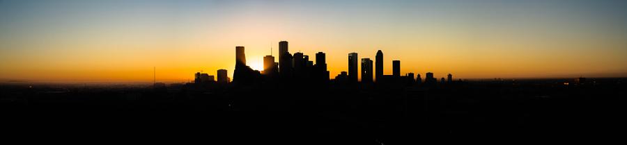 October Houston Sunrise in Houston
