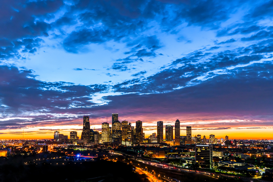 Morning Light In Houston