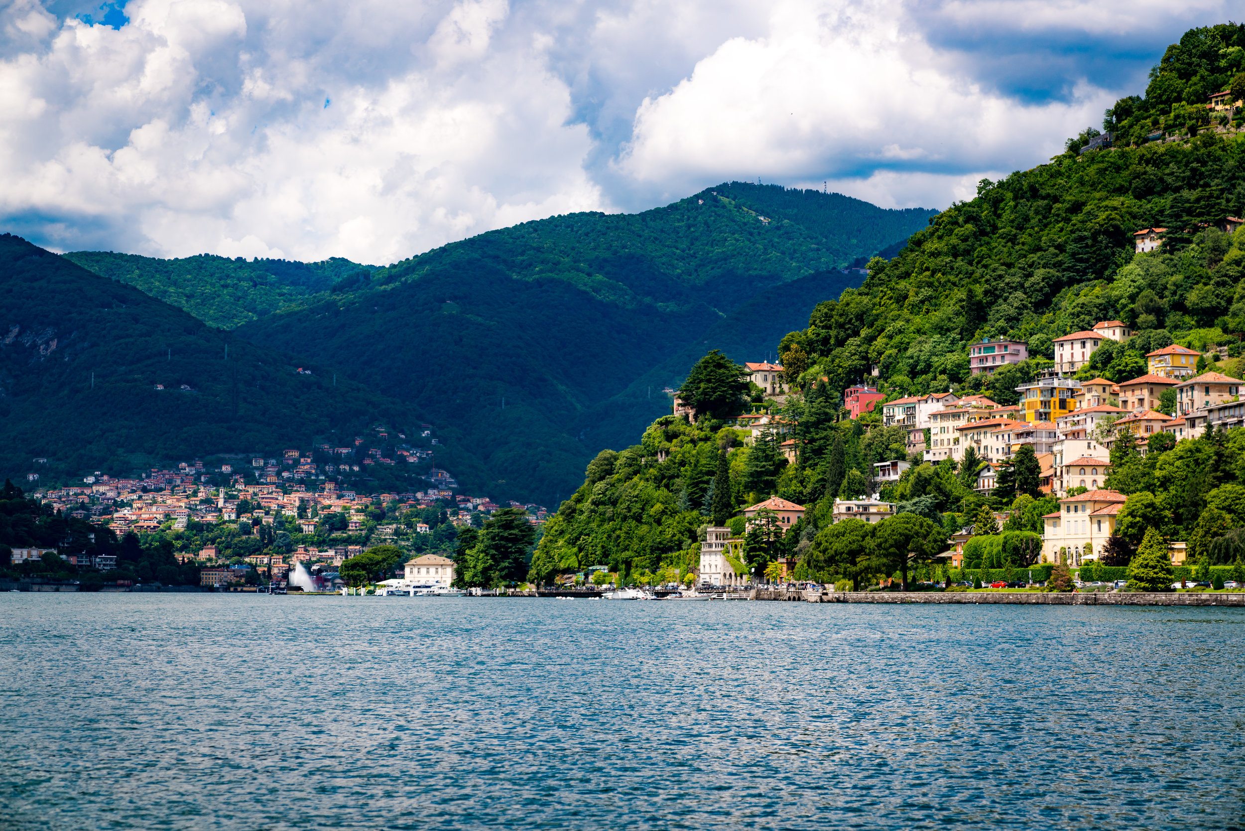 Como Ferry Two towns in light.jpg