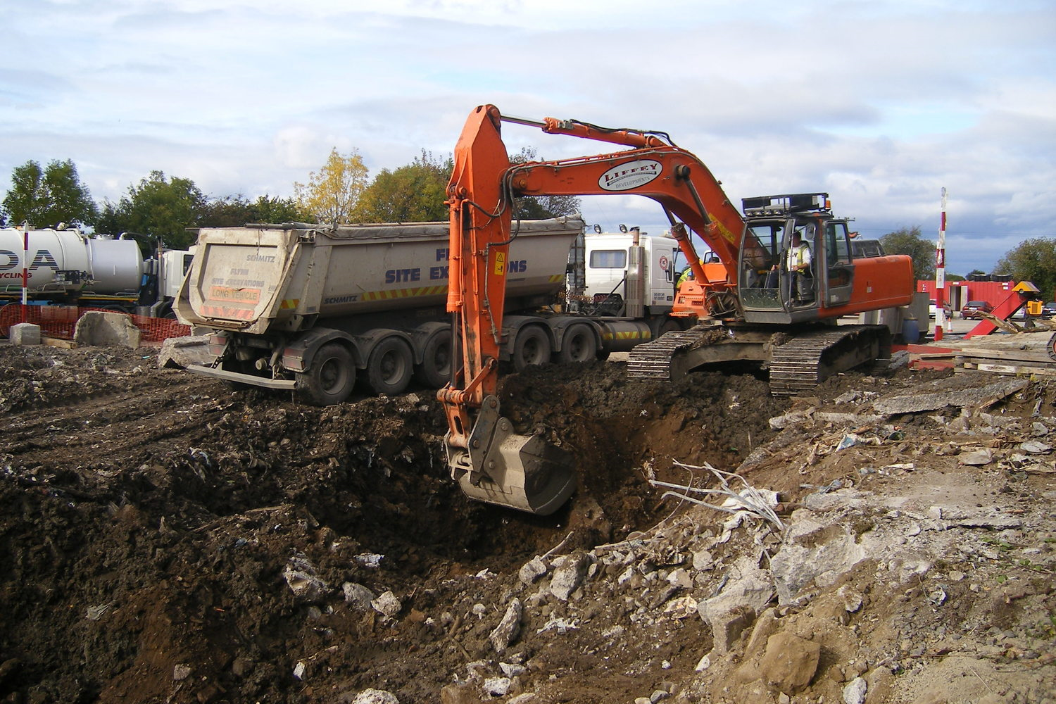 Site Remediation & Bulk Dig Projects
