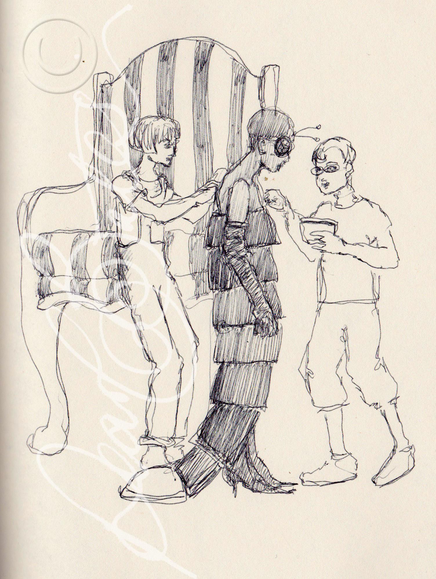 Susan, Natalia and Saffron