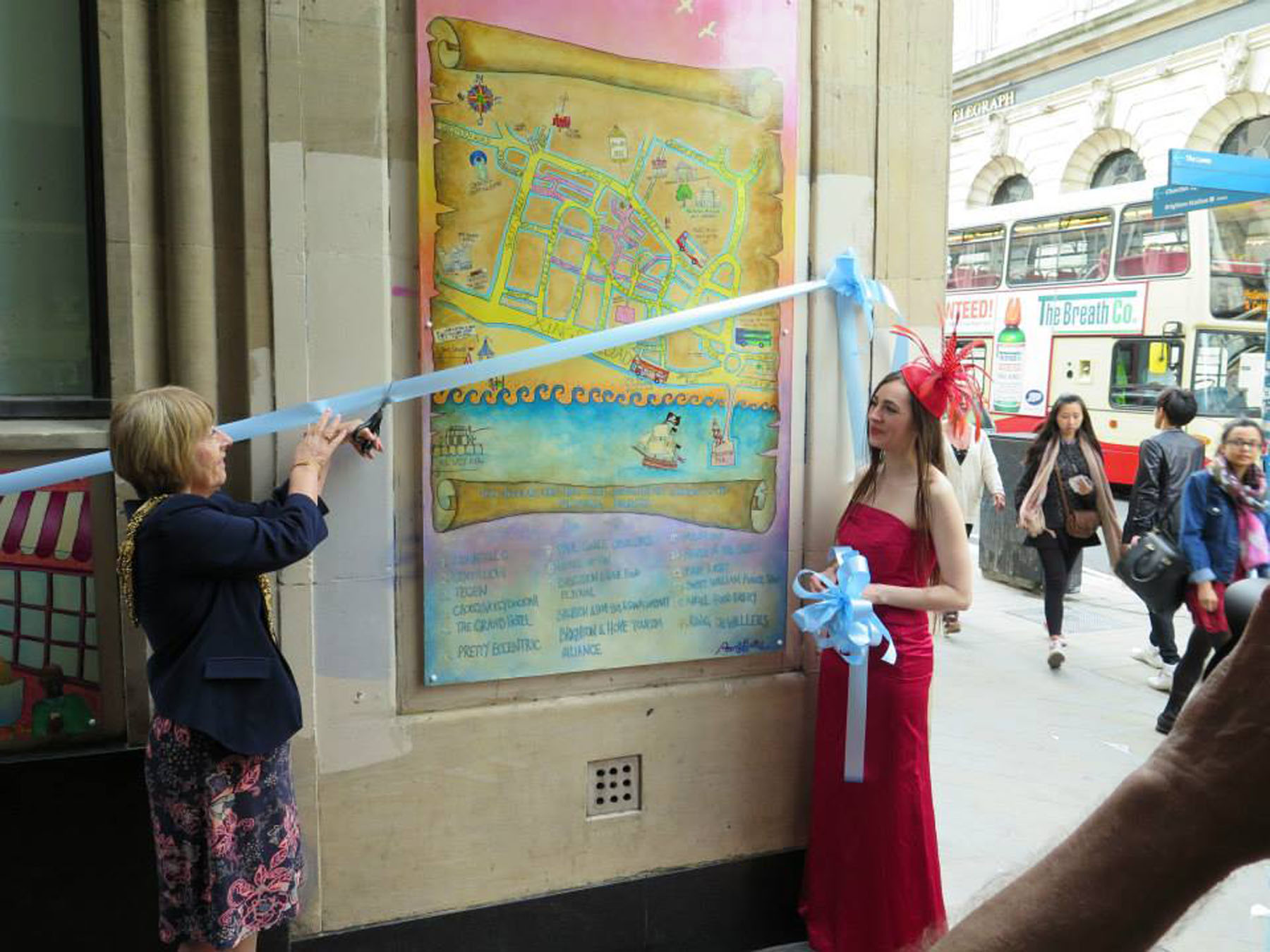 Click on the image above to see photos from the launch of  The Pirate Queen  mural