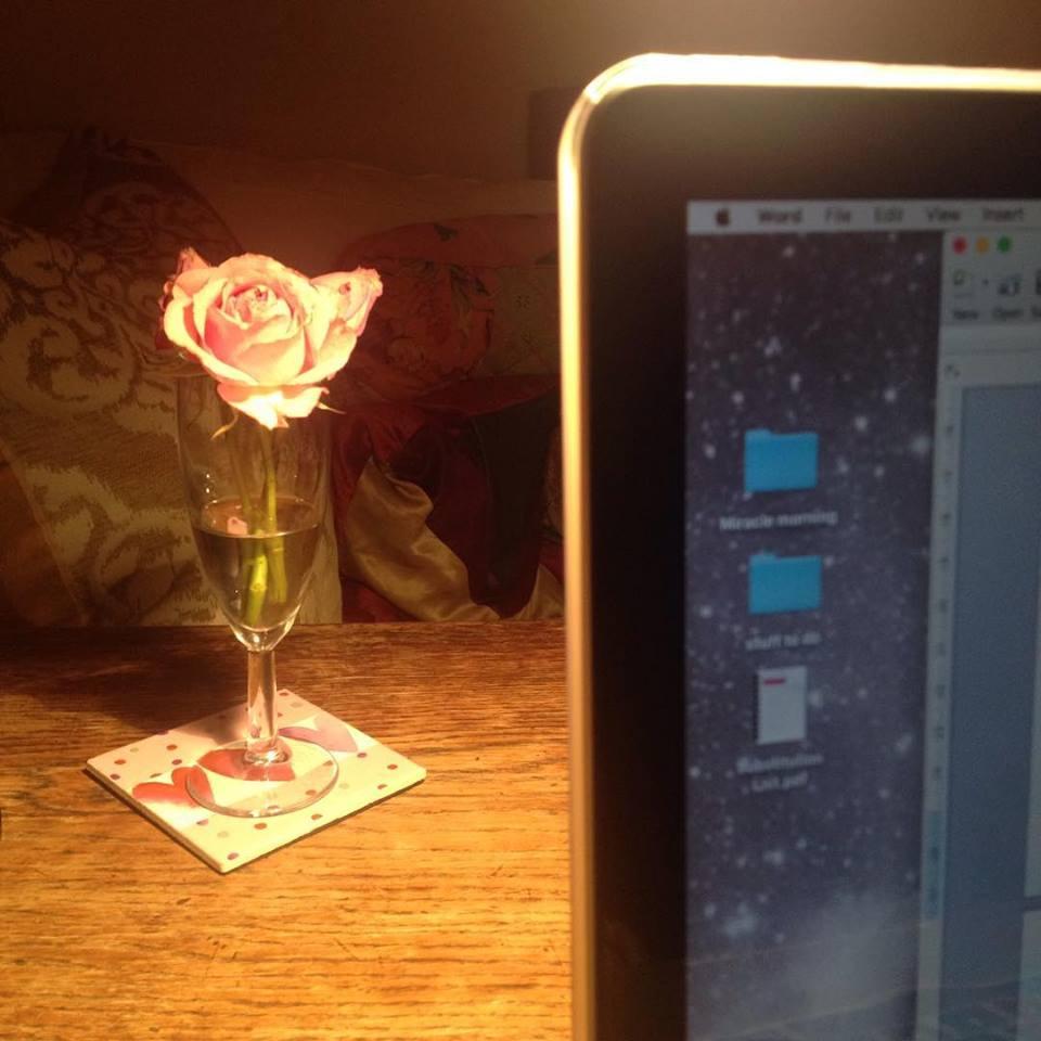 Writing, writing, writing...