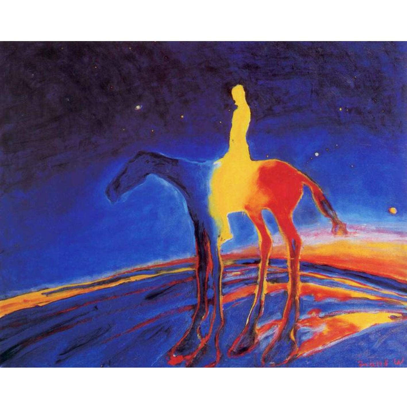 'Himmelrytteren' by Frans Widerberg