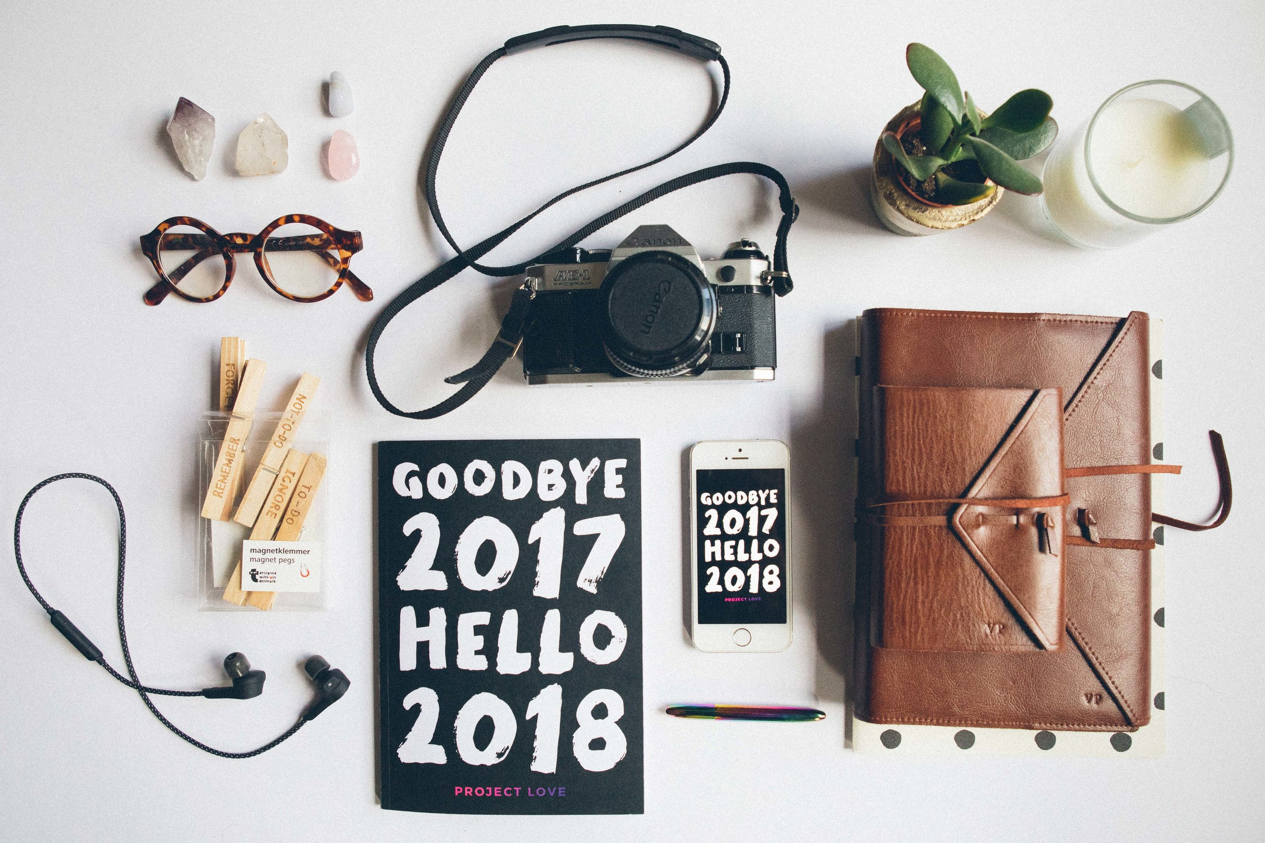 Goodbye 2017, Hello 2018 book