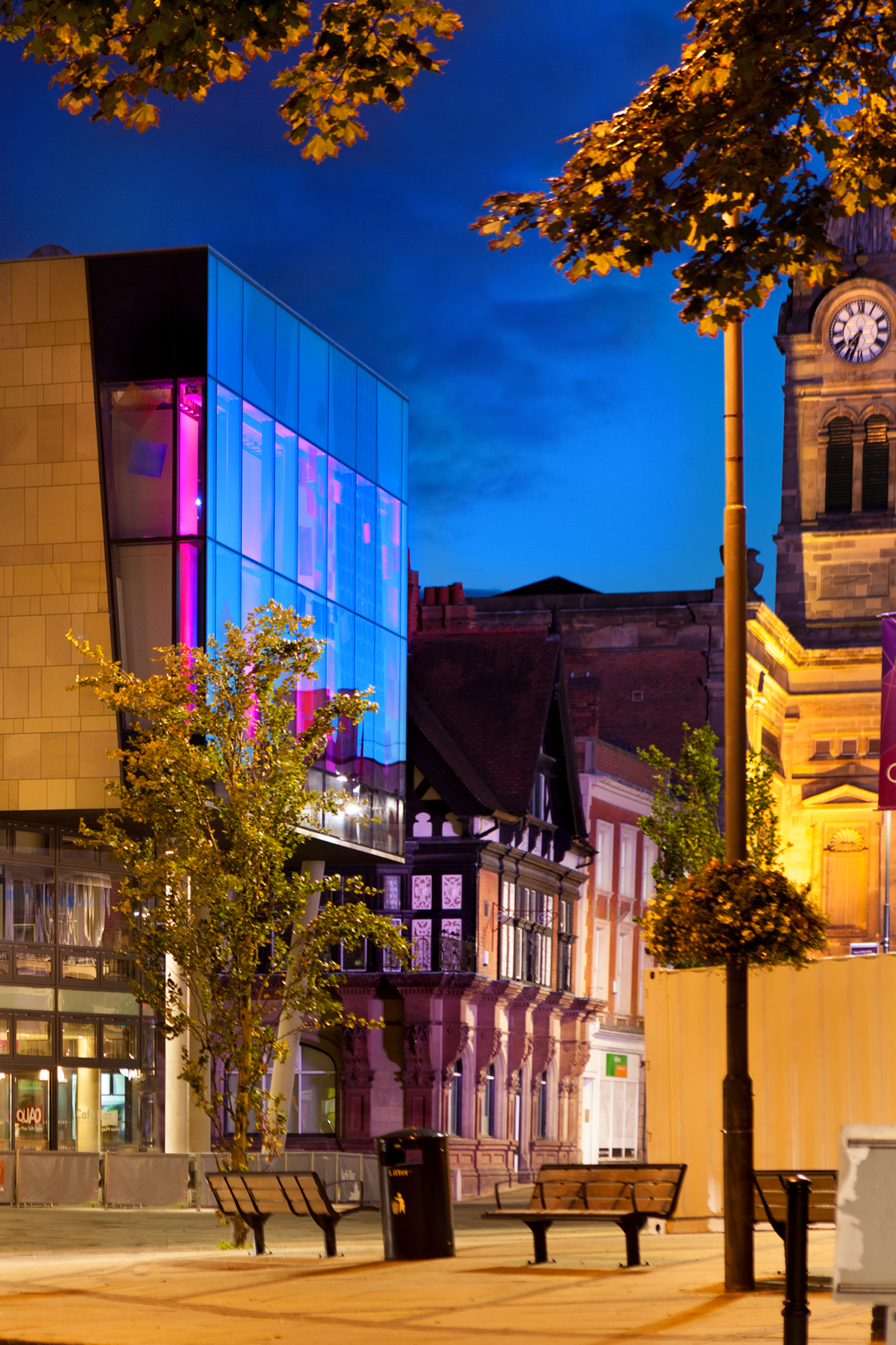 Derby QUAD is one of over 20 spaces in the city to receive a free wi-fi hotspot upgrade.