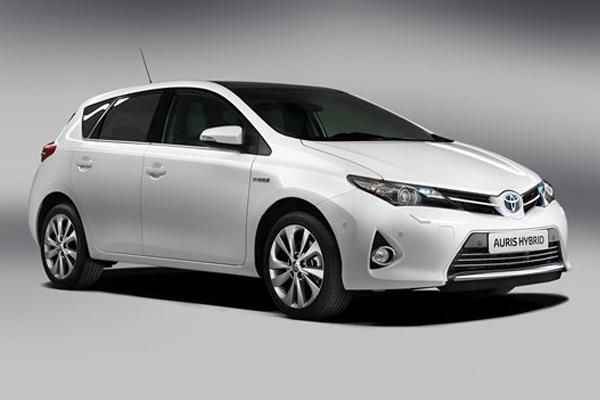 Toyota's Auris Hybrid model, built at its Burnaston site.