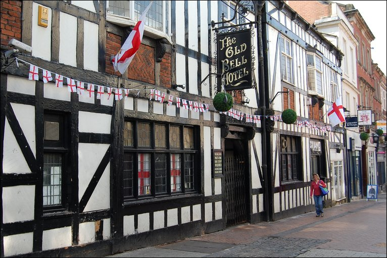 The Bell Hotel on Sadlergate, the new home for Zest.