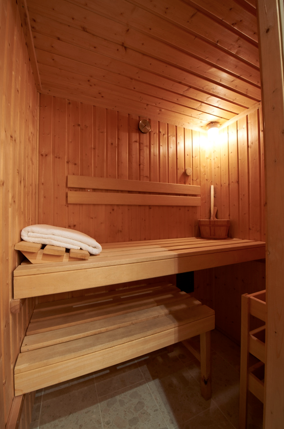 Each Birchover Hotel Apartment comes complete with its own sauna.