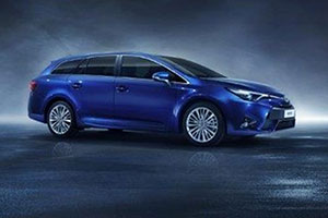 Images released by Toyota of the new Avensis estate, due to be built later this year at the Burnaston factory.