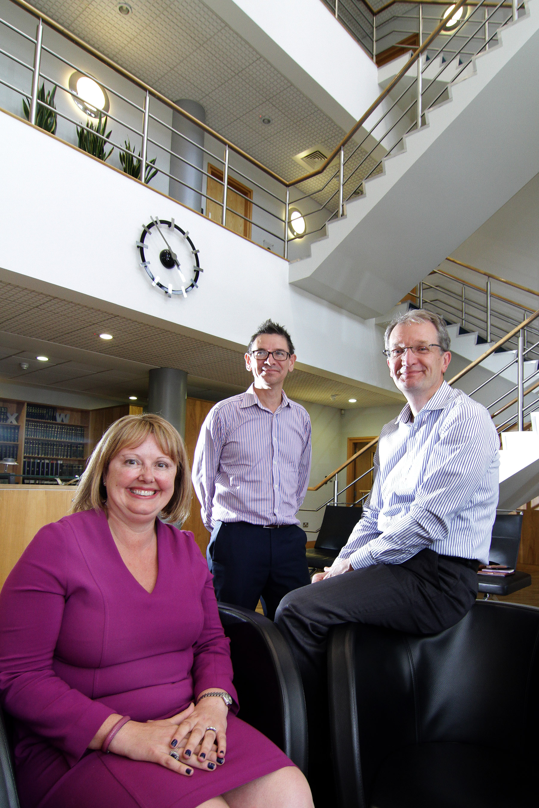 From left to right: Tiffany Cloynes (Partner), Graham Banks (Partner) and David Williams (Chairman and Partner)