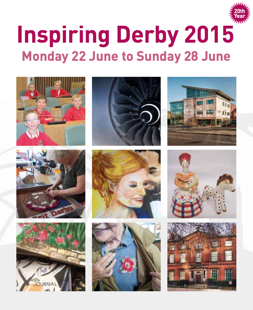 Click the image above to view the full programme for Inspiring Derby Week 2015
