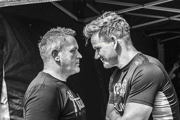 Dean Jackson and Gordon Ramsay go head-to-head with the loser forking out £1,000 to charity