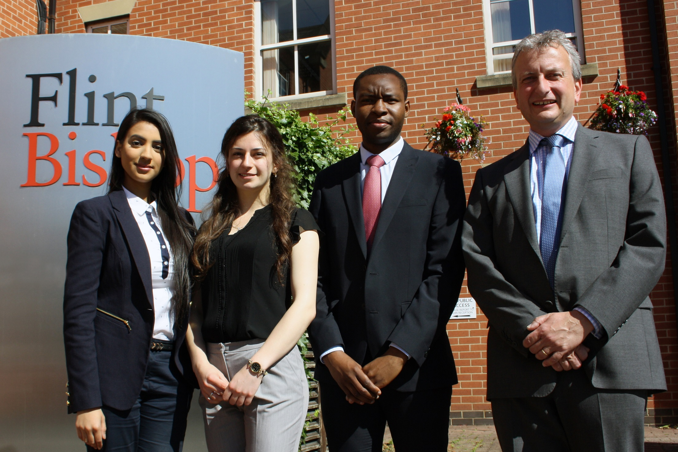 From left to right: Davinder Kooner, Adina Martin, Mzwandile Mabhena & Andrew Cochrane, Senior Partner and Head of Licensing at Flint Bishop