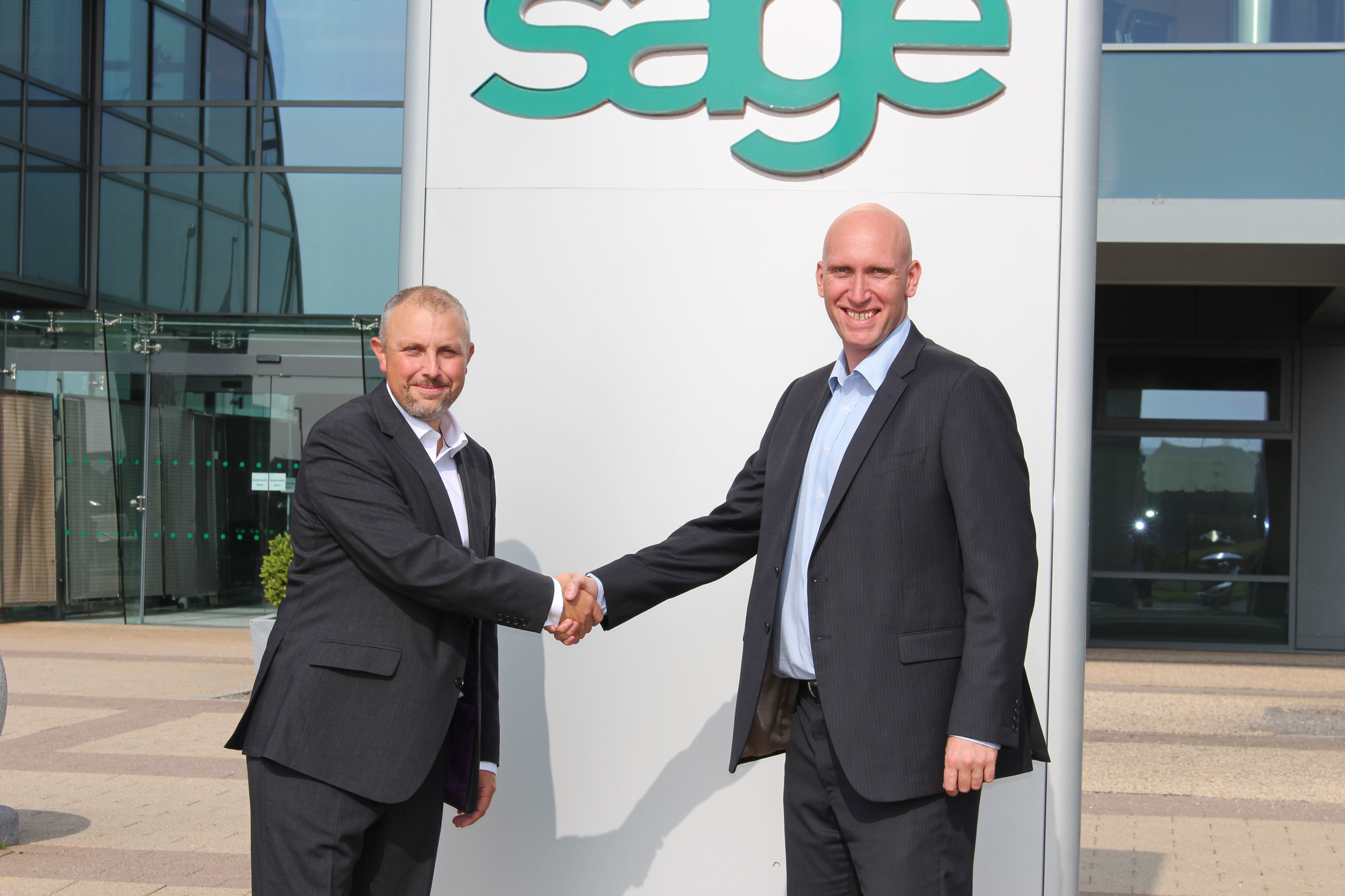 Left to right: Chris Smith (Commercial Director)and Richard Brewster (Managing Director) at Smith Cooper
