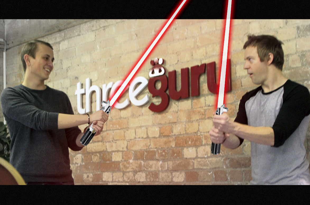 Self-confessed Star Wars fan Ross Fletcher joins the team at threeguru