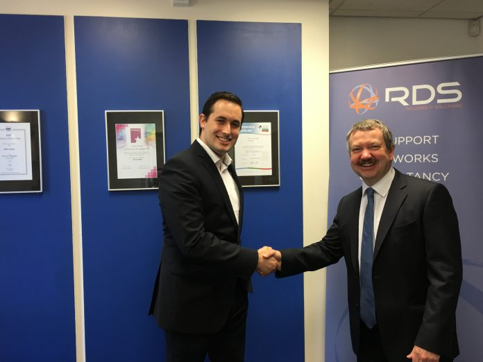 Sean Price (left) and Andrew Flinn, CEO of RDS Global