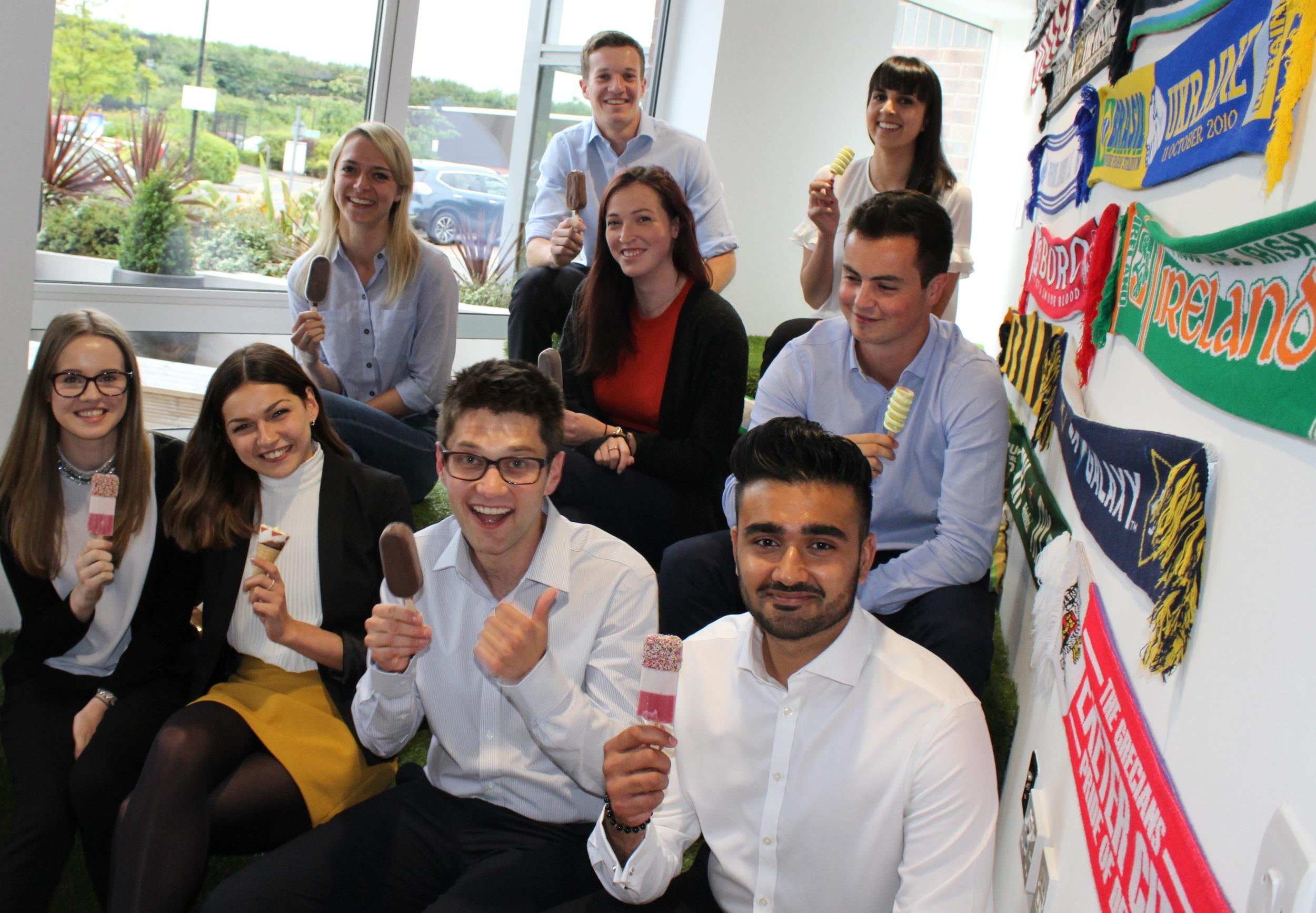 Bondholder PKF Cooper Parry's new wave of interns.
