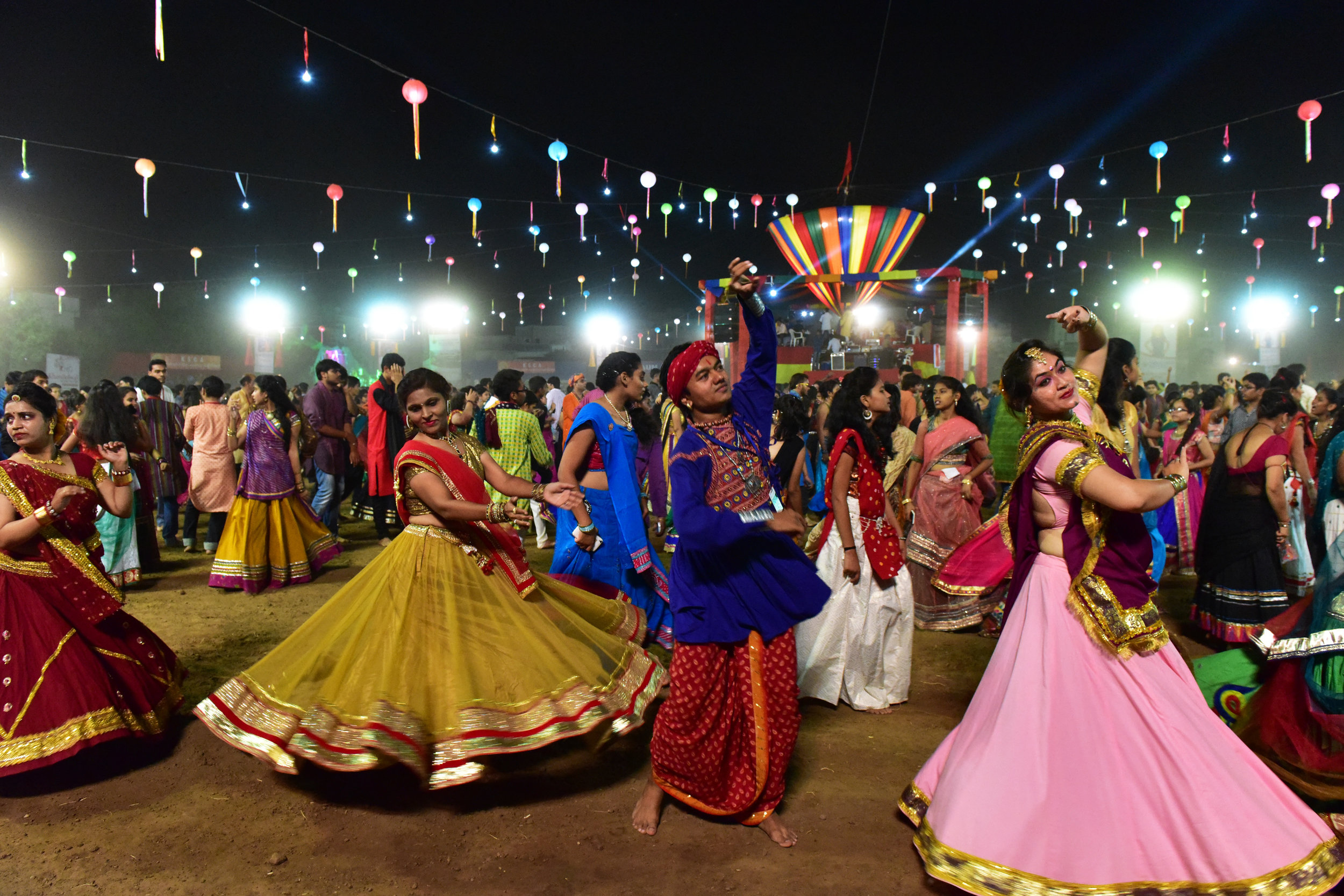 saturday Dancers performing the Garba Photo Credit Manish Vyas.JPG