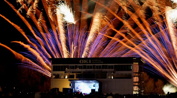 Fireworks in Derbyshire