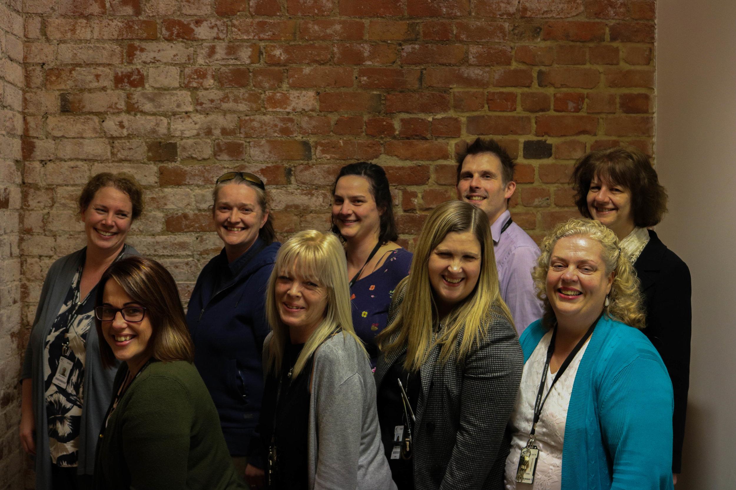 HLTA Derby College ESWs and teaching staff.jpg-orig.jpg