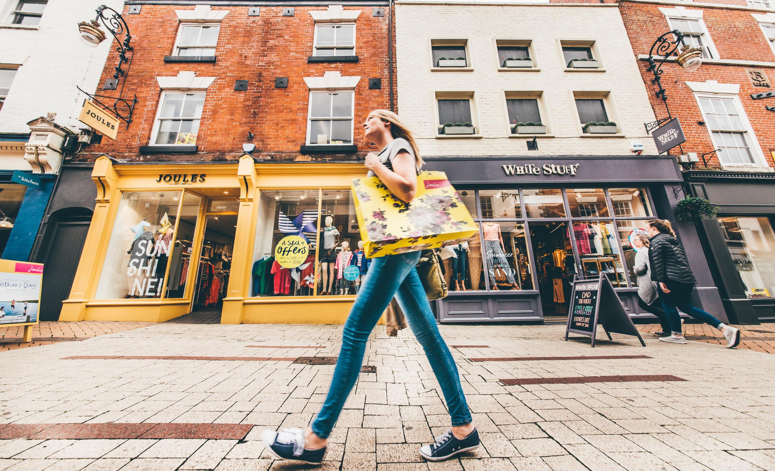 Derby tops UK retail destinations
