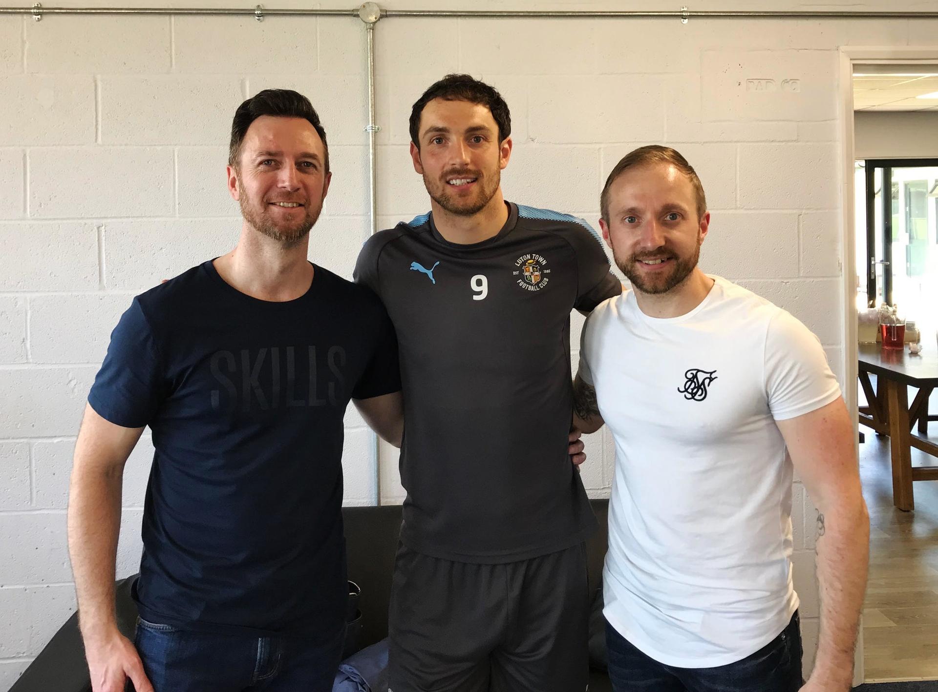 Luton Town FC kit launch