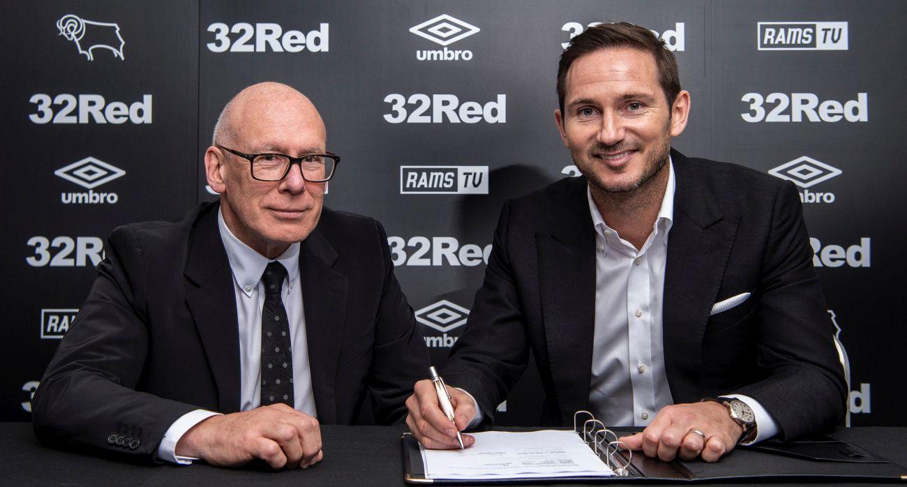 Mel Morris with Frank Lampard